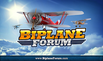 Screenshot of Biplane Forum