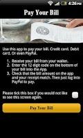 Screenshot of PizzaExpress