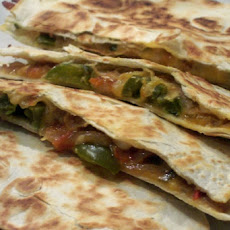 Pickled Onion and Monterey Jack Quesadillas