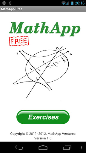 MathApp Free - Math Exercises