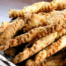 Spicy Cumin Cheese Straws