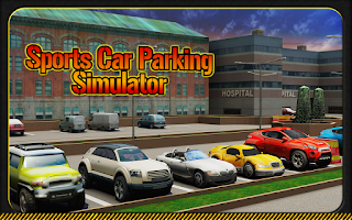 Screenshot of Sports Car Rush Drive 3D