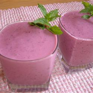 Triple Fruit Smoothie