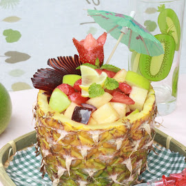 Fruity Treat.. by Syi Foodsgarden - Food & Drink Fruits & Vegetables ( salad, tropical, fruits, healthy, summer )