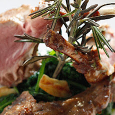 Rack of Lamb with Dijon Glaze