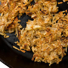 Chile-Cilantro Hash Browns