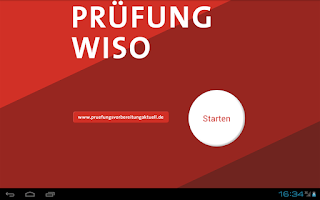 Screenshot of Prüfung WiSo