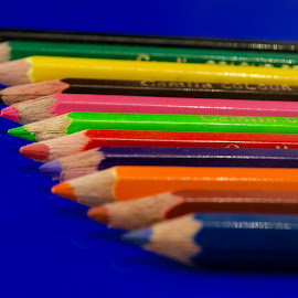 Colours by Nitish Saini - Artistic Objects Still Life ( pencil, still life, art, drawing, colours,  )