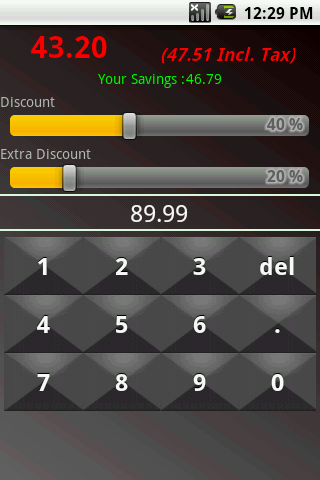 Sale Percent Calculator