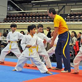 Warm-Up by Marco Bertamé - Sports & Fitness Other Sports ( girl, white, kids, boy, kata, karate,  )