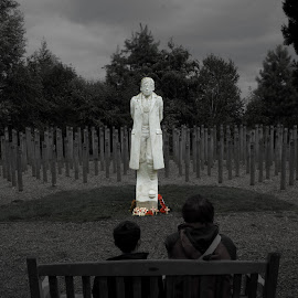 Shot at Dawn by Andy Pickford - Buildings & Architecture Statues & Monuments ( world war 1, national arboretum )