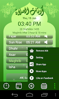 Screenshot of Prayer Time, Ramadan & Qiblah