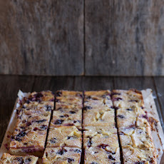 Rhubarb And Berry Custard Bars