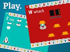 Screenshot of AlphaTots Alphabet