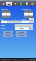 Screenshot of FADATA mobil Fahrschulsoftware