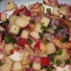 Apple Salsa With Chicken