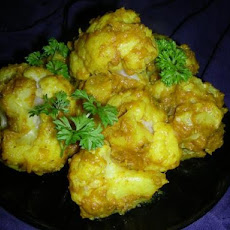 Ginger-Curry Cauliflower