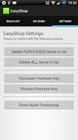 Screenshot of EasyShop