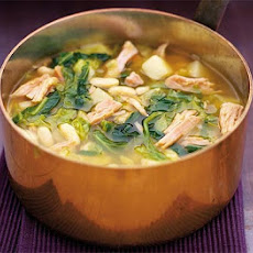 Spring Greens & Gammon Soup