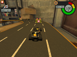 Screenshot of LEGO® Technic Race