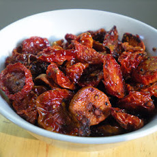 Crispy Oven-Dried Tomatoes and Garlic