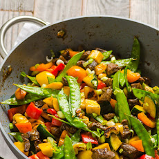 Beef and Cashew Stir Fry Recipe