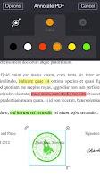 Screenshot of My Scans, PDF Document Scanner
