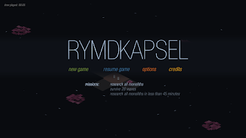 Screenshot of rymdkapsel
