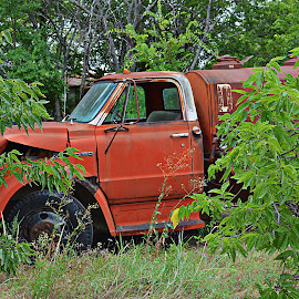 ----------The Old Truck---------- by Neal Hatcher - Transportation Automobiles