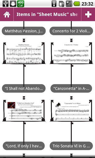 Sheet Music for Collectionista