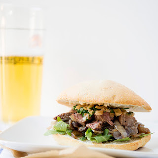 Steak au Poivre Sandwiches [Calphalon Your Set $500 Giveaway]
