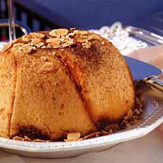 Dome Cake Filled with Chocolate and Nut Cream