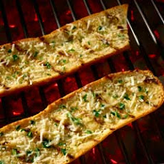 Grilled Cheesy Garlic Bread