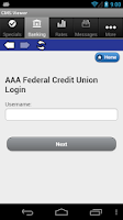 Screenshot of AAA Federal Credit Union