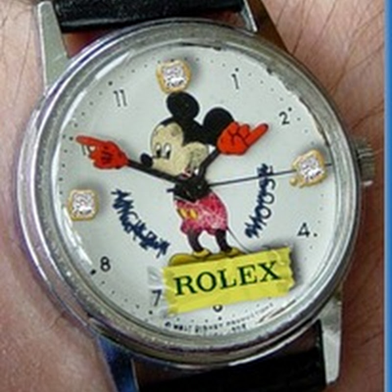 ¿Falso Rolex?