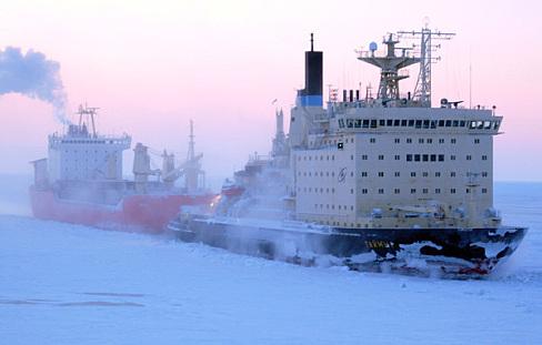 Os ssuper quebra gelos Nucleares russos são excenciais para manter abertas as rotas gélidas do oceâno Ártico, sem estes, os povos do extremo norte do planeta padeceriam ao tenebroso e longo inverno.