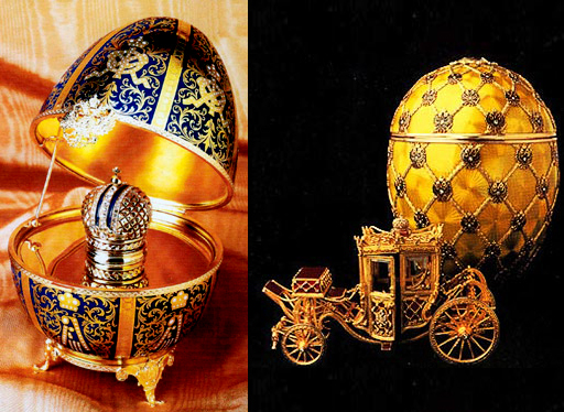 reminds faberge eggs
