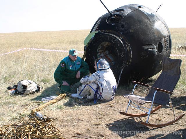 image of Soyuz capsule