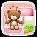 App GO SMS PRO TEDDY THEME EX apk for kindle fire