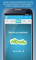 Screenshot of WooMe - Interactive Music & TV