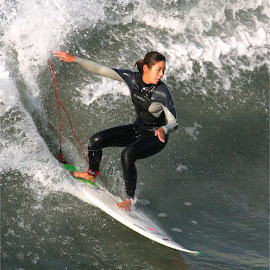 surf, surfer, surfing by William Graf - Sports & Fitness Surfing