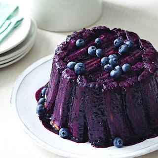 Blueberry-Orange Summer Pudding