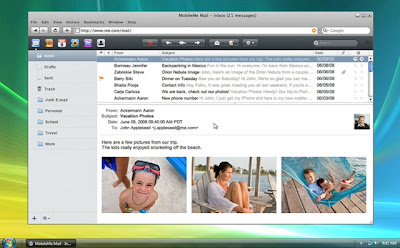 MobileMe WebApp