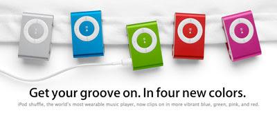 iPod Shuffle 2008