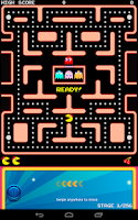 Screenshot of Ms. PAC-MAN Demo by Namco