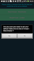 Screenshot of MKA UK Salat App