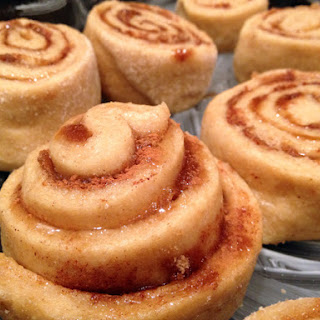 Easy Whole Wheat Cinnamon Roll