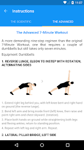 7 Minute Workout - screenshot