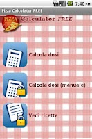 Screenshot of Pizza Calculator FREE