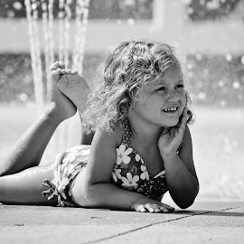 A mid-summer's daydream by Ali Reagan - Babies & Children Children Candids ( child, water, girl, beautiful, summer, swimming )